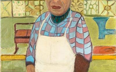 """American Labor Movement to Donate Fasanella's """"Corner Butcher"""" to Smithsonian"""