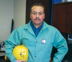 Pete Trinidad, Millwright at Accelormittal, Burns Harbor, Indiana