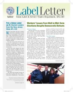 Label Letter–January-February 2013
