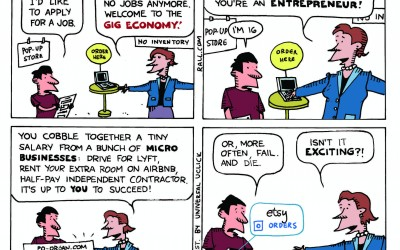 Implications of the Gig Economy–Temporary Employment with Big Drawbacks